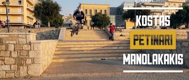 Amazing BMX Street Riding From Greece! Kink BMX
