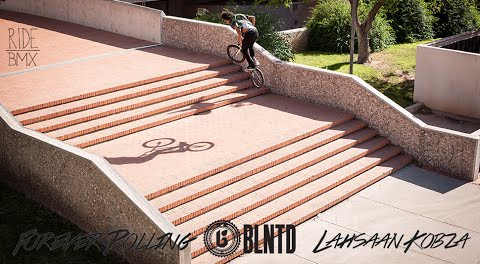 BLNTD: Forever Rolling – Lahsaan Kobza | Ride BMX