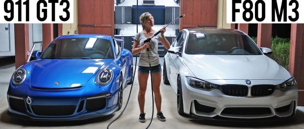 Porsche 991 GT3 Vs. F80 BMW M3 – First Drive