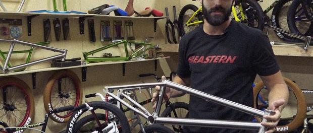 Titanium is Back! Eastern Bikes at Interbike 2016