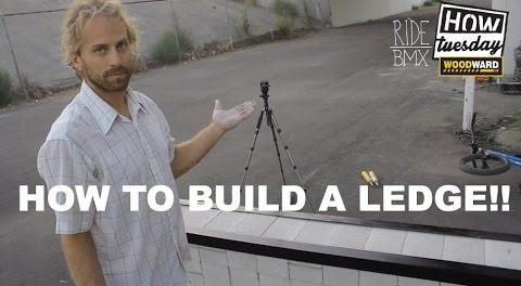 BMX: How-to – DIY Ledge Build w/ Aaron Bostrom