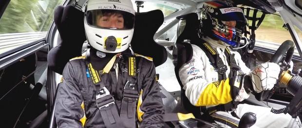 Getting scared in a Porsche 911 race car