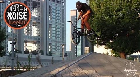 Urban Noise: BMX STREET RIDING IN TOKYO JAPAN | RideBMX