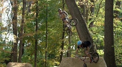 BMX: Cory Nastazio & Tyler Truman – East Coast Trails Trip