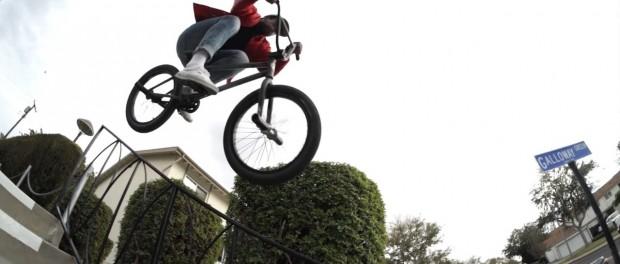 BMX: SEAN MORR STOLEN BIKES 2016