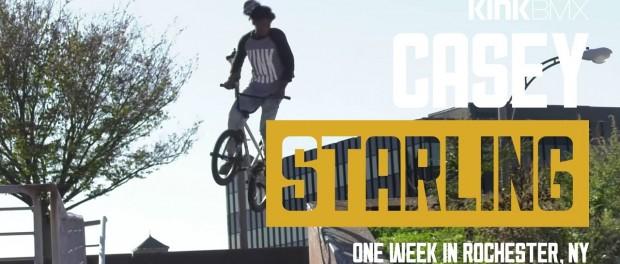 Casey Starling Shreds Rochester, NY! – Kink BMX