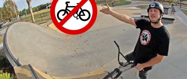 LET US RIDE OUR BMX BIKES