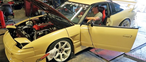 My 240SX Goes Back on the Dyno…