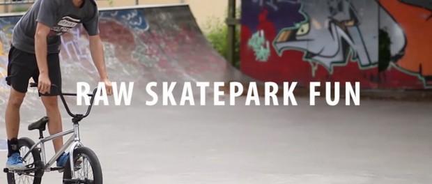 Skatepark Fun with BMX Bikes in Denmark! Raw Webisode 2016