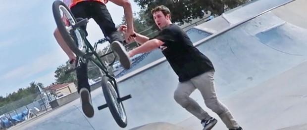 Skateparks with Spencer BMX