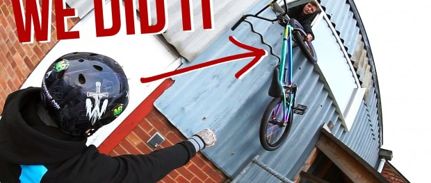BREAKING INTO THE SKATEPARK!  *DON'T TRY THIS*