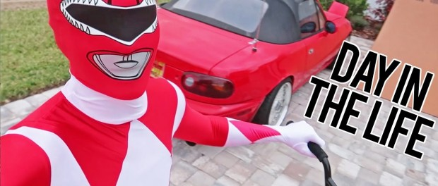 Day in the Life as a Power Ranger