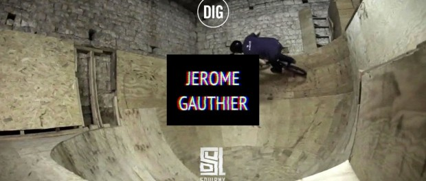 Jerome  Gauthier and his DIY Ramps – SOUL X DIG BMX