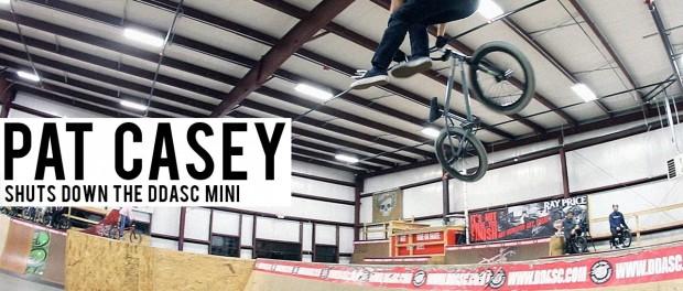 Pat Casey Shuts Down the DDASC Mini Ramp