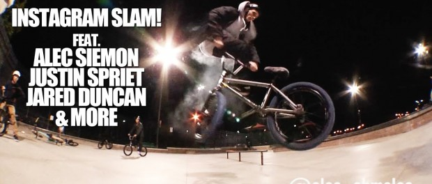 BMX – INSTAGRAM SLAM W/ ALEC SIEMON AND PALS