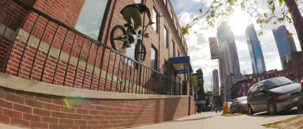 BMX – Markus Hoyte Shreds NYC