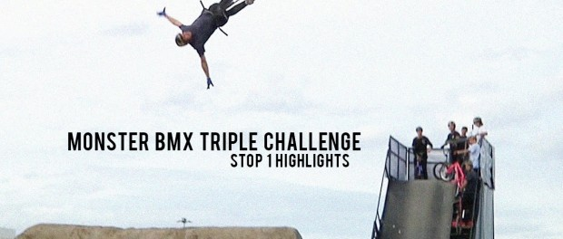 Monster BMX Triple Challenge Highlights with Baldock, Peraza, Loupos, Walker, Godziek, & More