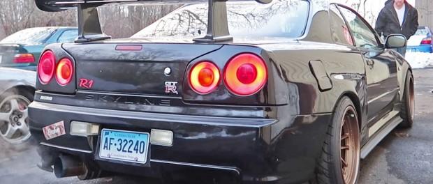 Not Your Average R34 Skyline GTR