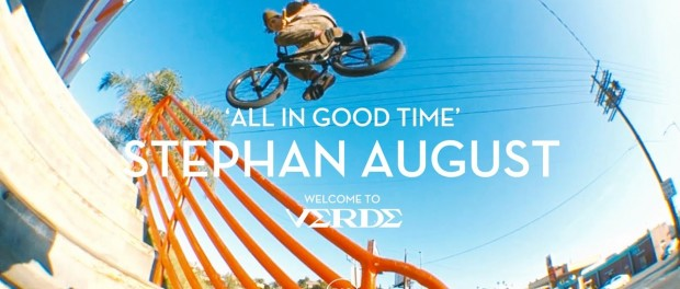 All In Good Time – Stephan August Welcome to Verde