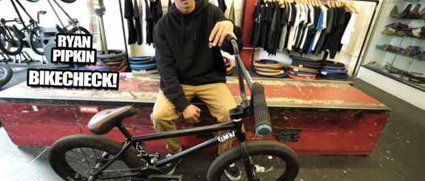 BMX Bikecheck: Ryan Pipkin's Stranger!