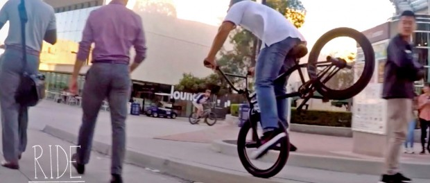 BMX: CHAD KERLEY & THE LONGEST STREET LINE EVER DONE??