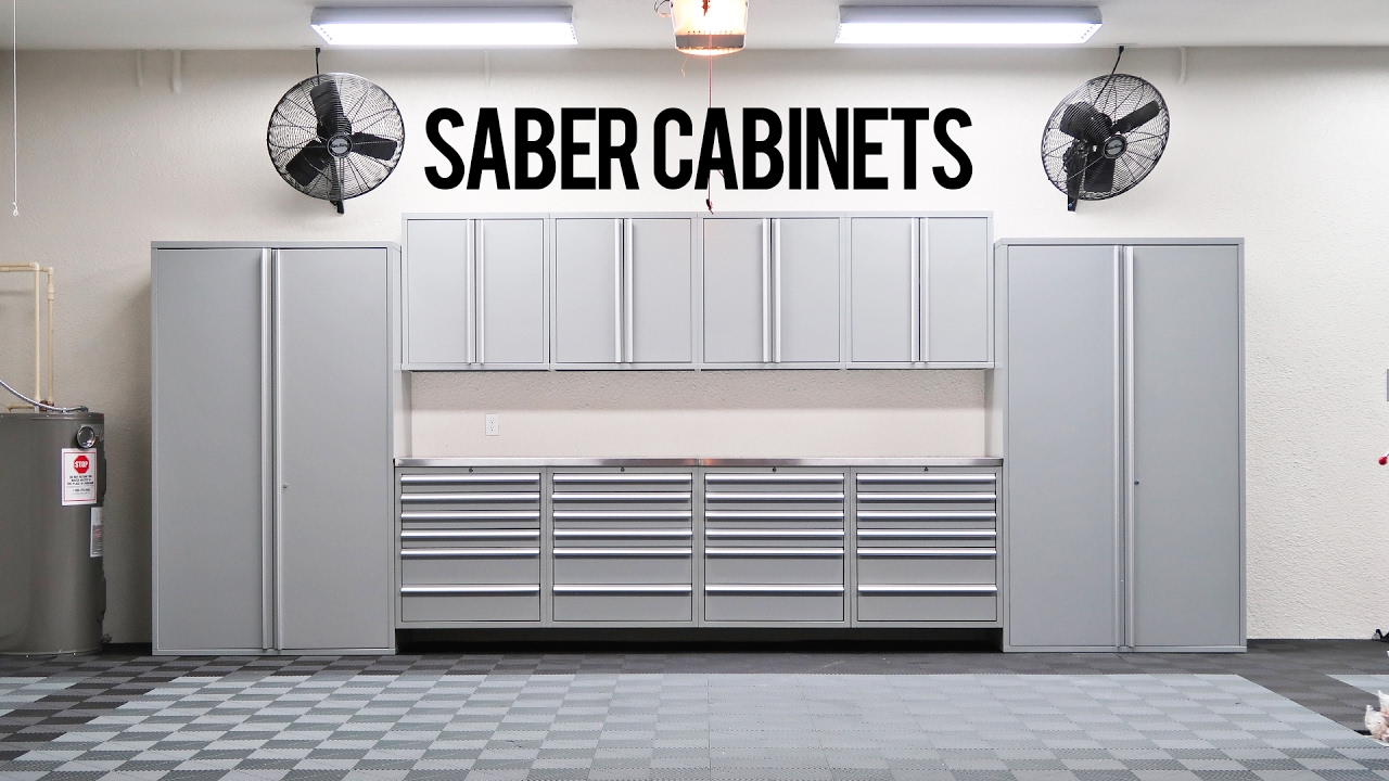 Beau Building The Dream Garage Saber Cabinet Install