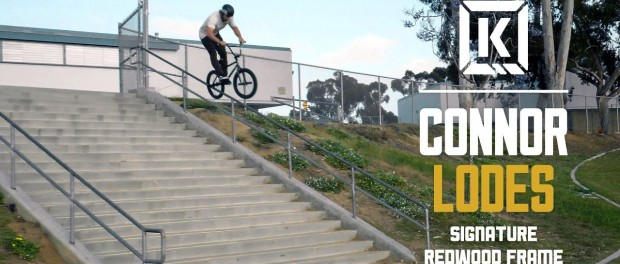 Connor Lodes Earns it in the streets! – Kink BMX Redwood