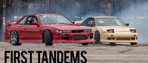 Drift event #12: FIRST TANDEMS!