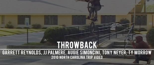 Garrett Reynolds, Ty Morrow, Tony Neyer, JJ Palmere, Augie Simoncini – 2010 NC Trip