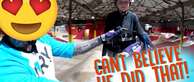 GOPRO BMX AMAZING BACKFLIP FOOTAGE!