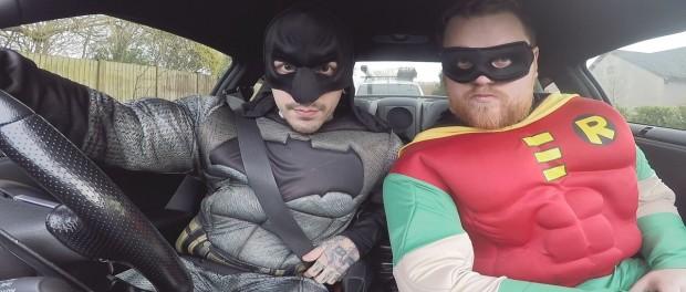 GTR SUPERHERO DRIVE THRU PRANK!