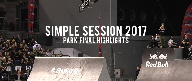 Larry Edgar, Daniel Dhers, Kevin Peraza – Simple Session 17: Park Finals!