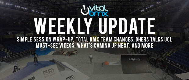 Simple Session Wrap-Up, Total Team Changes – Vital BMX Weekly Update