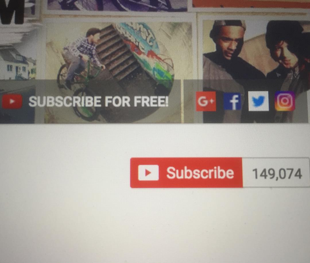getting closer to 150 000 subs on youtube  youtube com/woozybmx