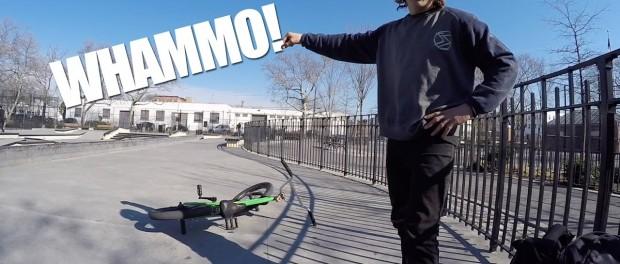BMX – CRAIG PASSERO / PEDRO GUARDADO NYC PARK SESH