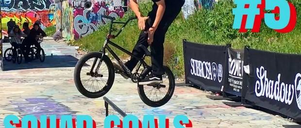 BMX – RIDING THE SUBROSA STREET RAIL CONTEST