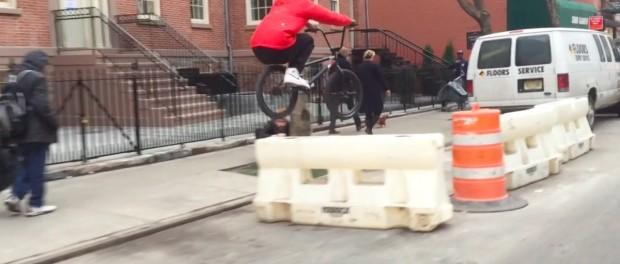 BMX RUN thru SOHO NYC