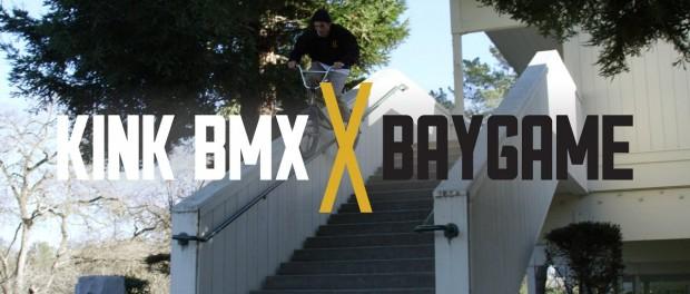 Bob Randel Pushing The Peg Game! – Kink BMX x BAYGAME