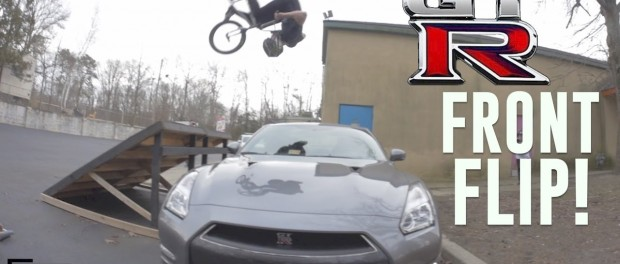 HE FRONT FLIPPED MY GT-R!
