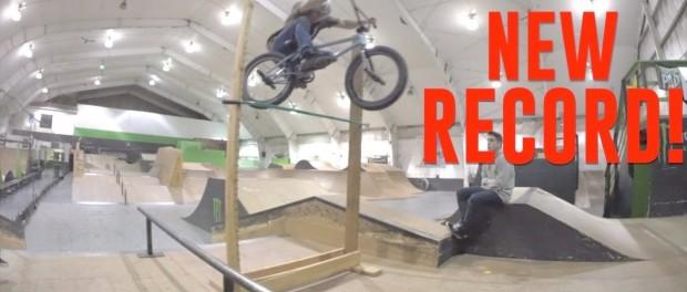 NEW RECORD BMX HIGH JUMP!