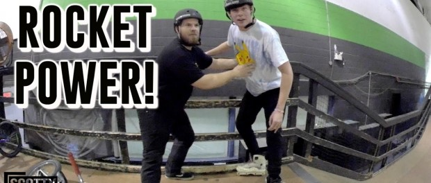 THE ROLLERBLADE, SKATEBOARD, SCOOTER, & BMX RELAY RACE!