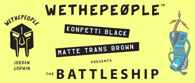 WETHEPEOPLE BMX: Dan Kruk/Jordan Godwin BATTLESHIP Frame OUT NOW!