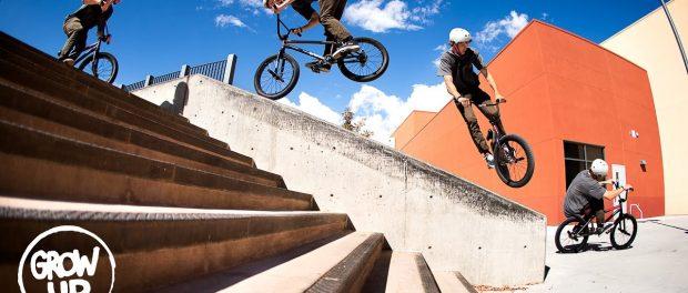 BMX / GROW UP –MARK BURNETT
