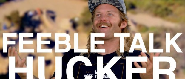 "MIKE ""HUCKER"" CLARK – FEEBLE TALK (EP. 13)"