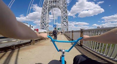 BMX ADVENTURES IN UPTOWN NYC!