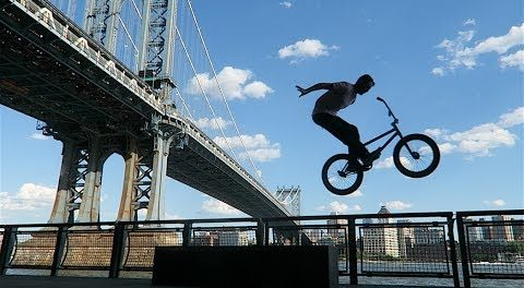 DailyCruise 25: BEST SPOTS in DOWNTOWN NYC! (BMX)