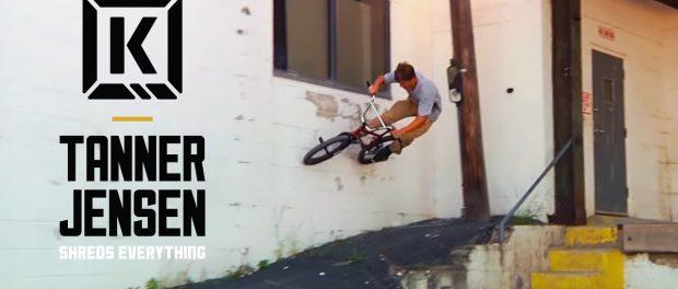 Tanner Jensen Shreds Everything! East Coast Hits – Kink BMX