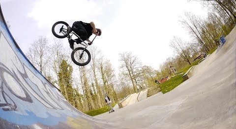 BMX Skatepark Fun in Germany!!! / 2017 Ratingen (Edit + RAW)