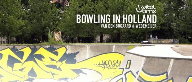 Bowling in Holland with Tom van den Bogaard and Daniel Wedemeijer