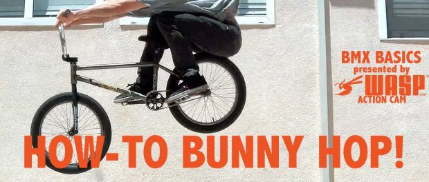 HOW TO BUNNY HOP A BMX THE RIGHT WAY